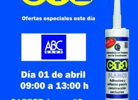 Invitación Abc Grup Nou Barris CT1 01-04-19