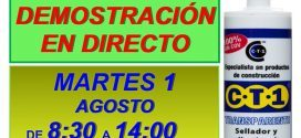 Invitación Pavimentos Azugrisa Jaén CT1 01-08-17