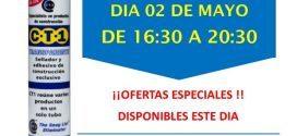 Invitación Makropinturas Sevilla Carmona CT1 02-05-18