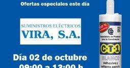 Invitación Suministros Eléctricos Vira CT1 02-10-19