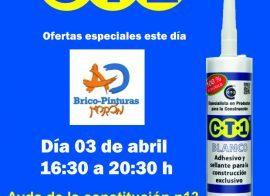 Invitación Bricopinturas Morón CT1 03-04-19