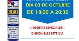 Invitación Brico-Pinturtas Morón Osuna Sevilla CT1 03-10-18