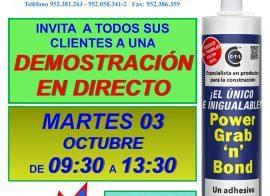 Invitación SUMI Herederos Muñozde La Rosa Power Grab n Bond 03-10-17