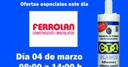 Invitación Ferrolan Rubí CT1 04-03-19