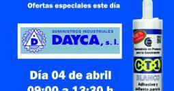Invitación Dayca CT1 04-04-19