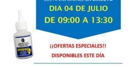 Invitación Ferretería Gabán Madrid CT1 04-07-18
