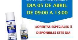 Invitación Nova Pinmat Granollers MSV y SPF 05-04-18