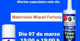 Invitación Miquel Fortuny Barcelona MSV-PGB 07-03-19