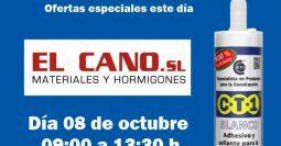 Invitación Materiales El Cano CT1 08-10-19