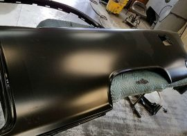 The best way to attach replacement car body panels.