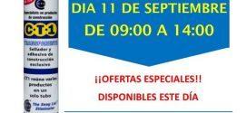 Invitación Ferretería Avenida San Martín de la Vega Madrid CT1 11-09-18