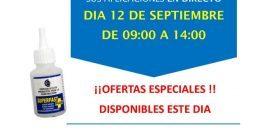 Invitación Maderas y Chapas Fuenlabrada Madrid CT1 12-09-18