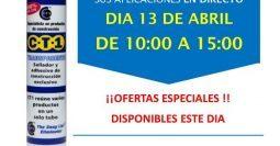 Invitación Materiales de Construcción Matamoros Gerena Sevilla CT1 13-04-18