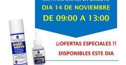 Invitación Suministros Moreno Rubi Barcelona CT1 14-11-18