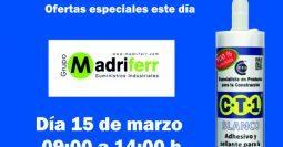 Invitación Madriferr Madrid CT1 15-03-19