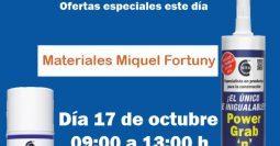 Invitación Miquel fortuni CT1 17-10-19