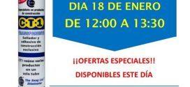 Invitación Suministros Equiseg Huelva CT1 18-01-19