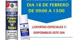 Invitación Bigmat Garro Canovelles CT1 18-02-19