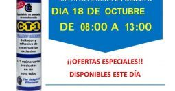 Invitación Pavimentos Garrido Montehermoso Cáceres CT1 18-10-18