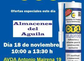 Invitación Almacenes del Aguila CT1 18-11-19