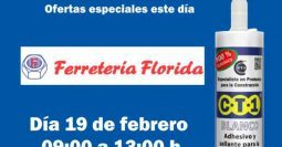 Invitación Ferretería Florida CT1 19-02-19