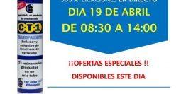 Invitación Pinturas Mavy Madrid 19-04-18