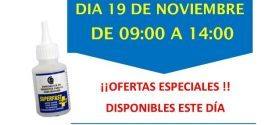 Invitación Ferretería Javier Torrejón de Ardoz Madrid CT1 19-11-18