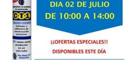 Invitación Ferretería Dorado Sevilla CT1 02-07-18