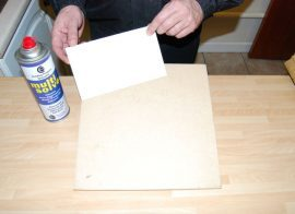 How to Stick Plastic to Wood