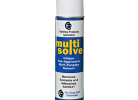 Multisolve for a grease free pre-paint surface