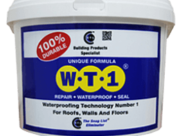 Waterproofing a Wet Room with WT1