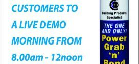 Keyline – Edinburgh invites all customers to a live CTec products demo morning 21-04-16