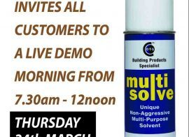 Caldwell – Dumfries invites all customers to a live CTec products demo morning 24-03-16