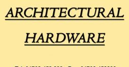 Gradans Architectural Hardware – ES