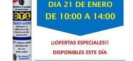 Invitación Sevillana de Pinturas Sevilla CT1 21-01-19