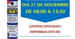 Invitación Calero Suministros Badajoz CT1 21-11-18