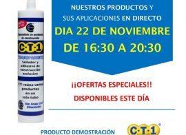 Invitación Brico Pinturas Morón  Sevilla CT1 22-11-18