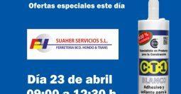 Invitación Suaher Servicios Candelaria CT1 23-04-19