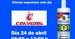 Invitación CalyGas Palamós CT1 24-04-19