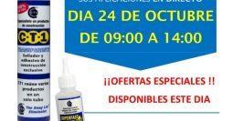 Invitación Descalcificadoras Rayzar Tarancón, Cuenca CT1-SPF 24-10-18