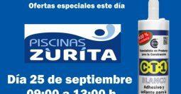 Invitación Piscinas Zurita Telde Gran Canaria CT1 25-09-19