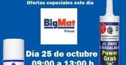 Invitación Bigmat Planas CT1-MSV 25-10-19
