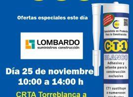 Invitación Lombardo suministros CT1 25-11-19