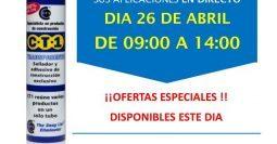 Invitación Ferretrería Práctica Puerto Rico Gran Canarias 26-04-18