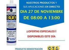 Invitación Bigmat Garro Barcelona CT1 27-11-18