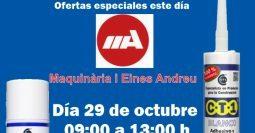 Invitación maquinaria Andreu CT1-MSV 29-10-19