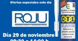 Invitación Ferreteria Roju CT1 29-11-19