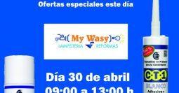 Invitación Ferretería My Wasy CT1-MSV 30-04-19