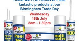 Buildbase Birmingham Trade Day 18th July 2018