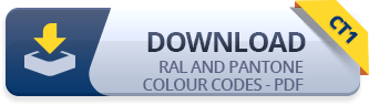 CT1 RAL and PANTONE Colour Codes